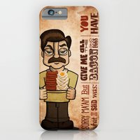 iPhone & iPod Case featuring Ron Swanson 4 by maykel nunes