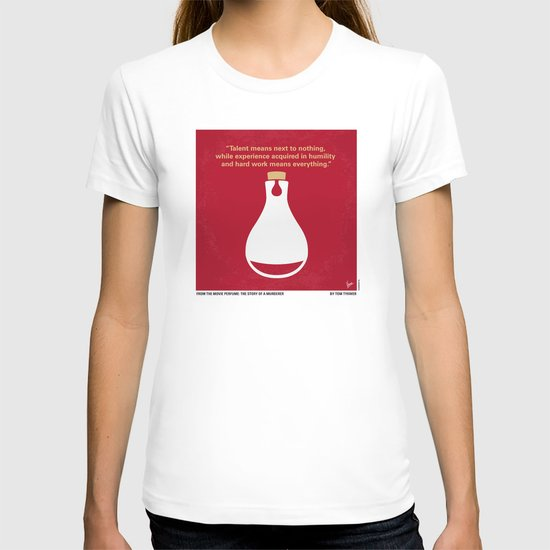 No194 My Perfume The Story of a Murderer minimal movie poster T-shirt