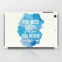 Shots You Take iPad Case