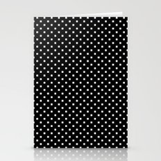 Polka Squares Stationery Cards