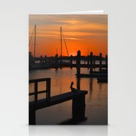 After Sunset Stationery Cards