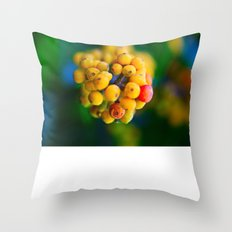 In the shape of  a heart.  Throw Pillow