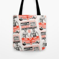 The Great 'Stache Clash … Tote Bag