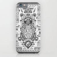 Legend of Zelda inspired Deku Nuts Vintage Advertisement iPhone 6 Slim Case