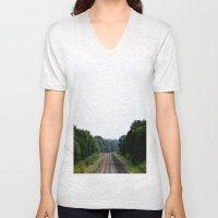 Tracks Unisex V-Neck
