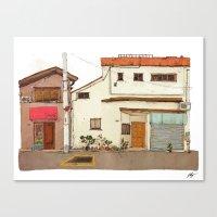 Tokyo Street 4 Canvas Print