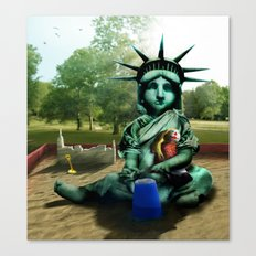 Little Liberty Canvas Print