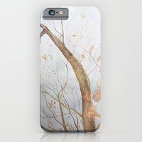 Watercolor under the trees iPhone 6 Slim Case