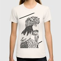 RESURRECCIÓN Womens Fitted Tee Natural SMALL