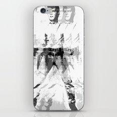 FPJ gray mix iPhone & iPod Skin