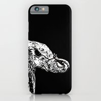 iPhone & iPod Case featuring Elephant Black by Sunshine Inspired Designs