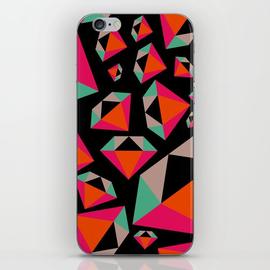 Diamonds Are A Girl's Best Friend iPhone & iPod Skin