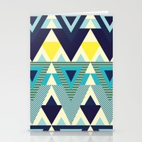 Geometric Chic Stationery Cards