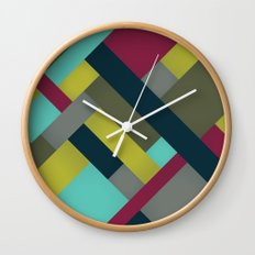 Abstrakt Adventure Ver. 2 Wall Clock