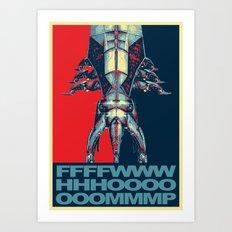 The Call of Reaper -Mass Effect Art Print