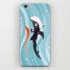 Grandpa Orca iPhone & iPod Skin