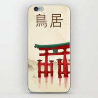 Torii Gate - Painting iPhone & iPod Skin