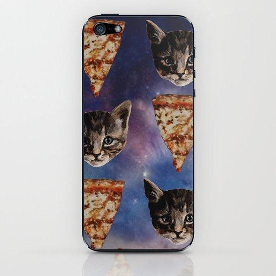 Kitten Pizza Galaxy  iPhone & iPod Skin