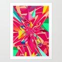 Explosion #1 Art Print