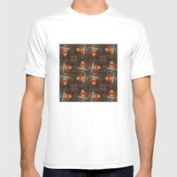 Salad Spinner Pattern Mens Fitted Tee White SMALL