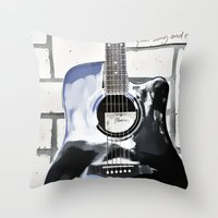 Be Your Song And Rock On… Throw Pillow