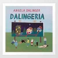 Dalingeria Art Print