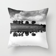 what is reflection? Throw Pillow