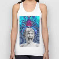 Unisex Tank Top featuring Psycho Design  by Love2Snap