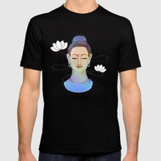 Buddha Mens Fitted Tee Black SMALL