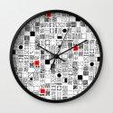 Sq. Wall Clock