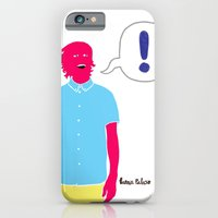iPhone & iPod Case featuring Le Cool Kid by Mexican Zebra