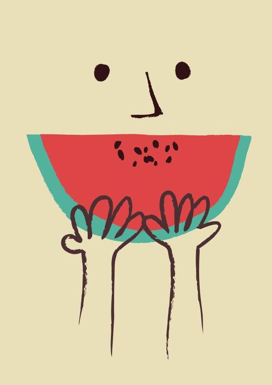 Summer smile Art Print