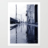 Another rainy day Art Print