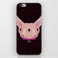 Two-Faced Sphynx From Outer Space iPhone & iPod Skin