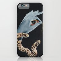 iPhone & iPod Case featuring All seeing eye I. by Daniela Samcova Collage