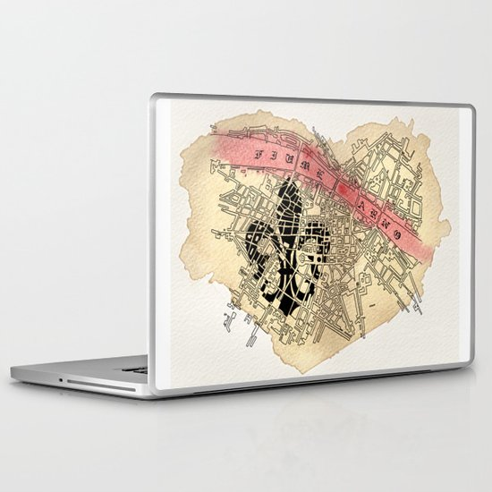 Fiume Arno Laptop & iPad Skin