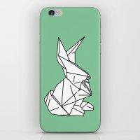 Bunny Or 兔子 (Tùzǐ)… iPhone & iPod Skin