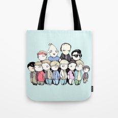 Goonies Vs Monster Squad Tote Bag