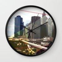 NY01 Wall Clock