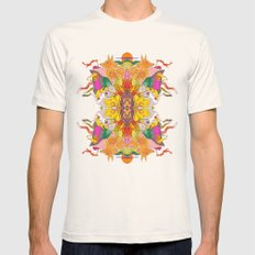 Free Psych and Mirrors - Antonio Feliz Mens Fitted Tee Natural SMALL