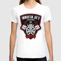 Immortan Joe's Customs Womens Fitted Tee White SMALL