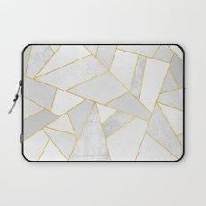 White Stone Laptop Sleeve