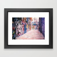 Fifteen Framed Art Print