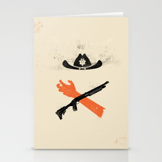 The Wandering Dead Stationery Card