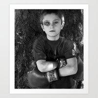 Lil' Fighter Art Print