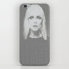Heart of... (White version) iPhone & iPod Skin
