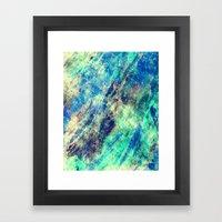 Under The Ice Winter Abs… Framed Art Print