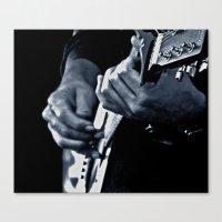 Music Has No Color Canvas Print