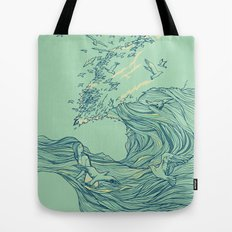Ocean Breath Tote Bag