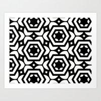 Vogelaar Black & White P… Art Print